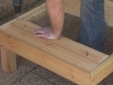 בניית שולחן לגן