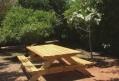 בניית שולחן פיקניק