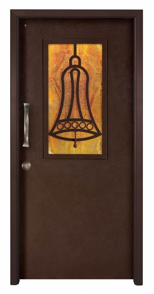 נקודות התורפה העיקריות הן לרוב בדלתות וחלונות, דלת רב בריח, (צילום: יח