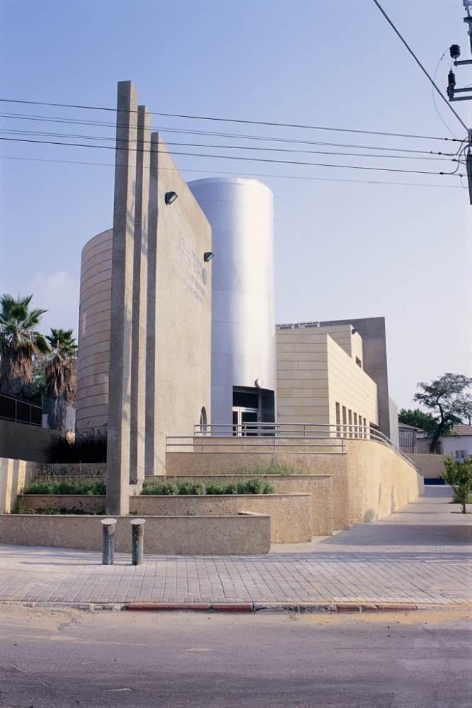בנין ויצו בתכנון אדריכלית גויס אורון, (צילום: רן ארדה)