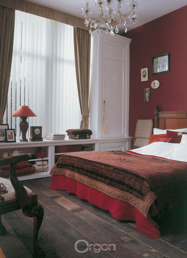 בחדרי שינה וסוויטות הורים עדיף להשתמש בוילונות המאפשרים כניסה מבוקרת של אור רך ואינטימי יותר, (צילום: יח