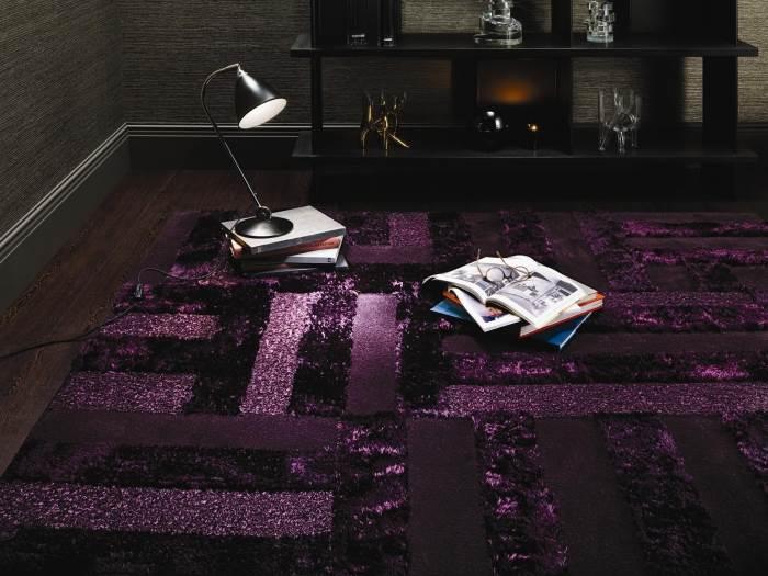 """""""הטקסטורה המלטפת נוצרת משילוב של אריגה נמוכה וגבוהה"""", שטיח ה-""""Touch Me"""" מבית """"צמר שטיחים יפים"""", (צילום: יח""""צ)"""