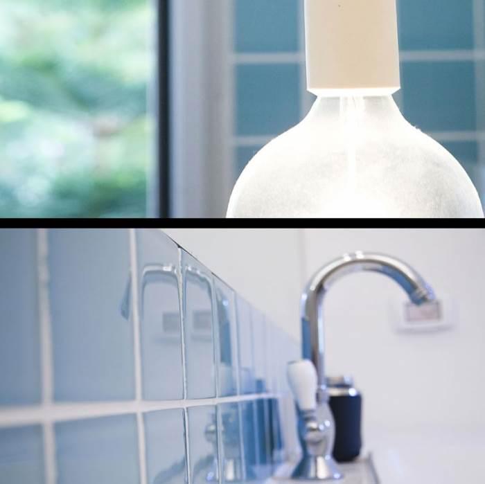לילינטל ממליצה להתמקד בסקאלת צבעים אחת בחדרי אמבטיה, ליצירת מראה הרמוני ושלו (צילום: קלי לוי)