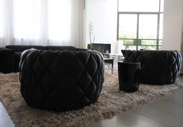 פינת חמד ומבט נוסף לסלון (צילום יח