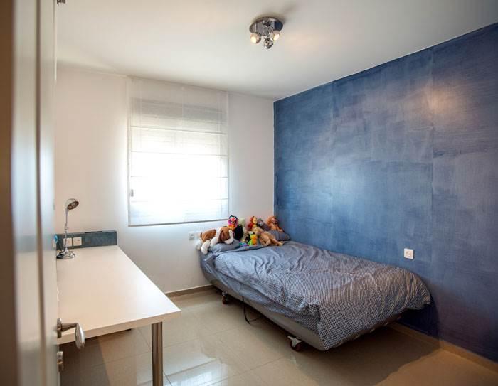 חדר הבן עם קיר באפקט ג