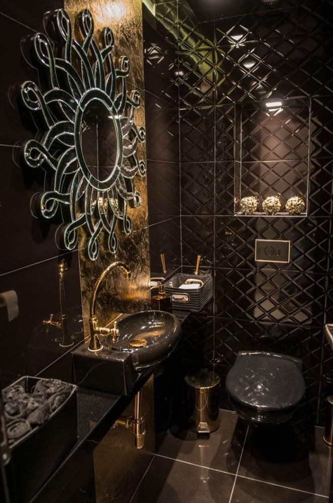 שירותי אורחים של זהב ושחור לבקשת הלקוחה