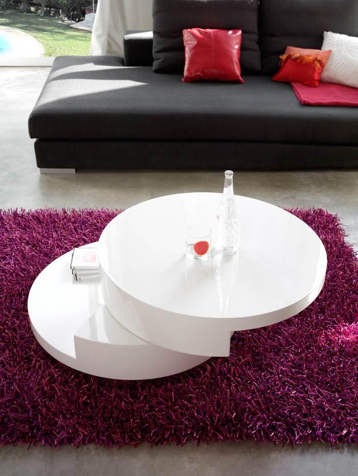 שולחן סלוני כבר מזמן לא חייב להיות מלבני- Dupen</br>
