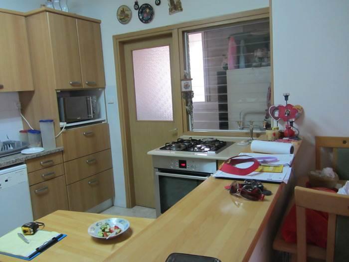 המטבח לפני השיפוץ