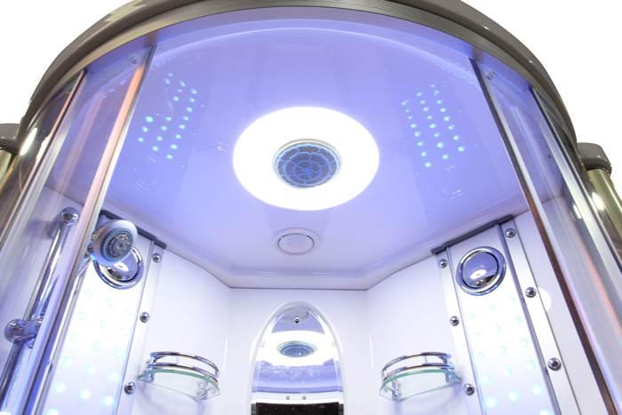 כך זה נראה מקרוב - מקלחון עיסוי מפנק. ניתן גם לשדרג את המקלחון הקיים בביתכם