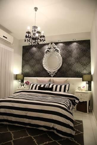 סגנון קלאסי ורומנטי בחדר השינה