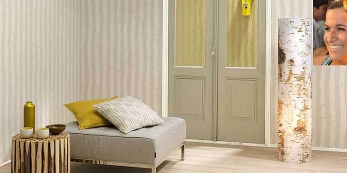 טפט שקט והרמוני המתאים לחדר השינה. (צילום: יחצ גולדשטיין גלרי טפט)