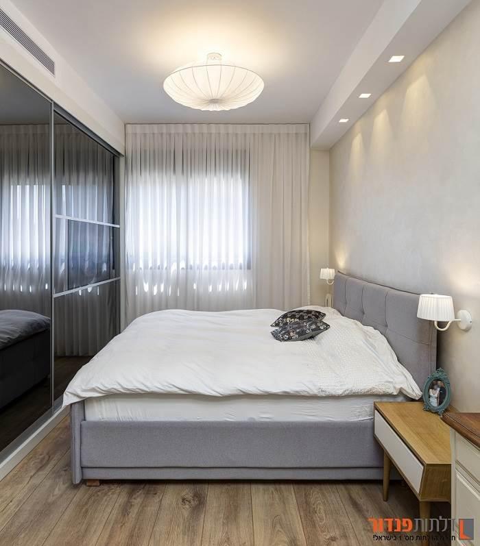 עיצוב חדר השינה. צילום: נדב פקט
