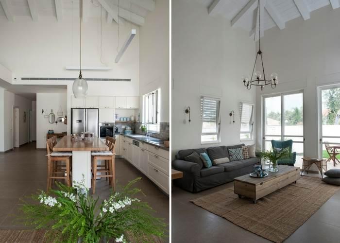 התקרה הגבוהה יוצרת מרחב | צילום: אורית אלפסי