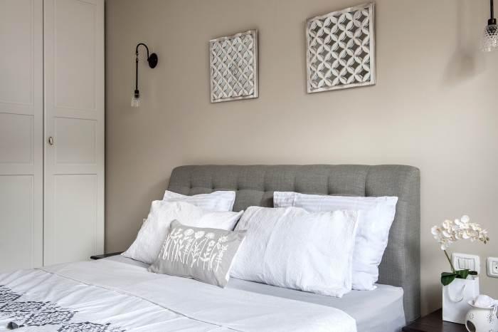 חדר השינה של ההורים | צילום: אורית אלפסי