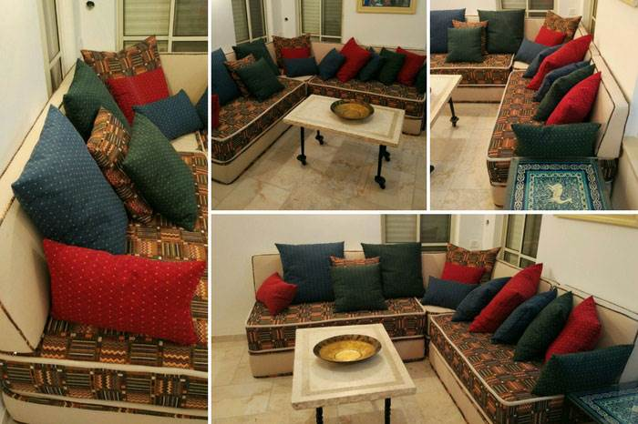 פינות מרוקאיות בעיצוב אישי עד הבית