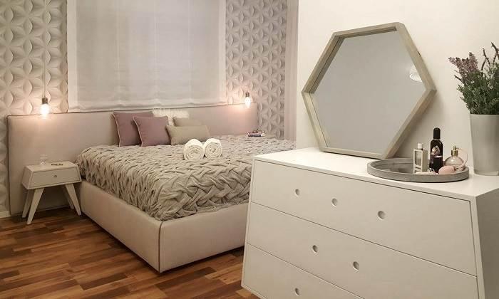 חדר שינה הורים בעיצוב מרגש