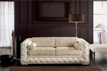 ספה עם בסיס קפיטונאז' - רהיטי מוביליה