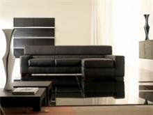 רהיטי מוביליה - ספת עור מודרנית