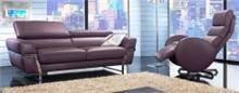 מערכת ישיבה מפוארת בסגול - רהיטי מוביליה