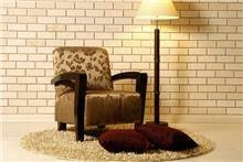 כורסא מעוצבת גוון זהב