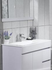 ארון אמבטיה לבן
