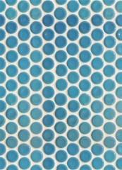 חלמיש  - אריח פסיפס עיגולים