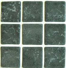 חלמיש  - פסיפס זכוכית אפור