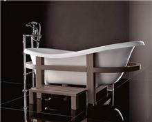 חלמיש  - אמבטיה מפיברגלס