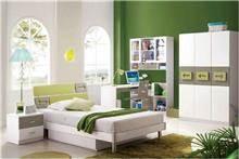 היבואנים - חדר ילדים ירוק