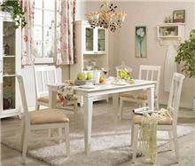 היבואנים - שולחן לבן וינטג'