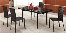 שולחן שחור מעוצב - היבואנים