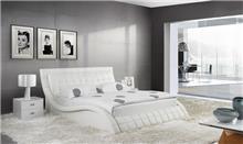 מיטה לבנה זוגית - היבואנים