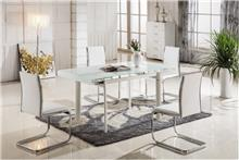 היבואנים - שולחן אוכל מזכוכית