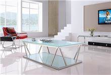 היבואנים - שולחן סלון מזכוכית