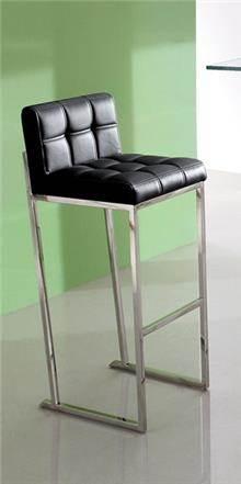 כסא בר שחור אלגנטי - היבואנים