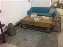 שולחן סלון מעץ טיק - היבואנים