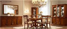 רהיטי מוביליה - פינת אוכל אובאלית