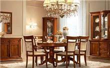 רהיטי מוביליה - פינת אוכל חומה