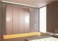 ארון דלתות ורודות - בית אומנות העץ