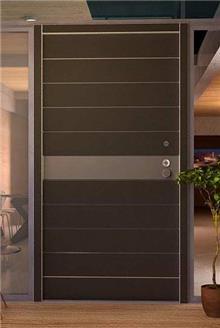 דקור - DECOR - דלת כניסה חומה