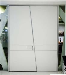 דלת לבנה כפולה - דקור - DECOR
