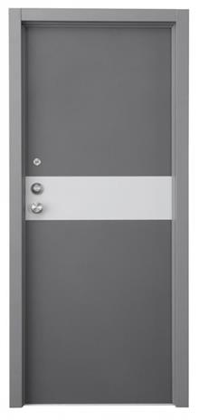 דקור - DECOR - דלת אלגנטית אפורה