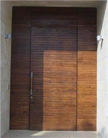 דלת לחזית הבית - דקור - DECOR
