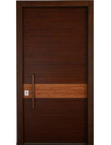 דקור - DECOR - דלת חומה לבית