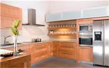 מטבח עץ מייפל - דקור - DECOR