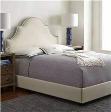 מיטה זוגית מודרנית קרם
