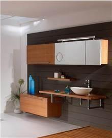 ריהוט אמבטיה מעץ טבעי