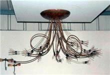 מנורת תקרה דקורטיבית
