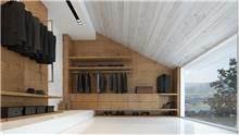 חדר ארונות יוקרתי - Samgal concept