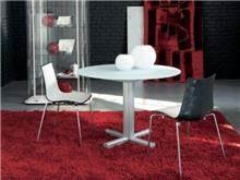 שולחן עגול עם רגל אחת - בלורן פתרונות פרזול ועיצוב לרהיטים